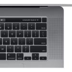 تصویر لپ تاپ 16 اینچی اپل مدل MacBook Pro MVVK2 2019 همراه با تاچ بار