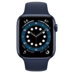 تصویر ساعت هوشمند اپل سری 6 آلومینیوم 44 میلیمتری با بند اسپرت سیلیکونی