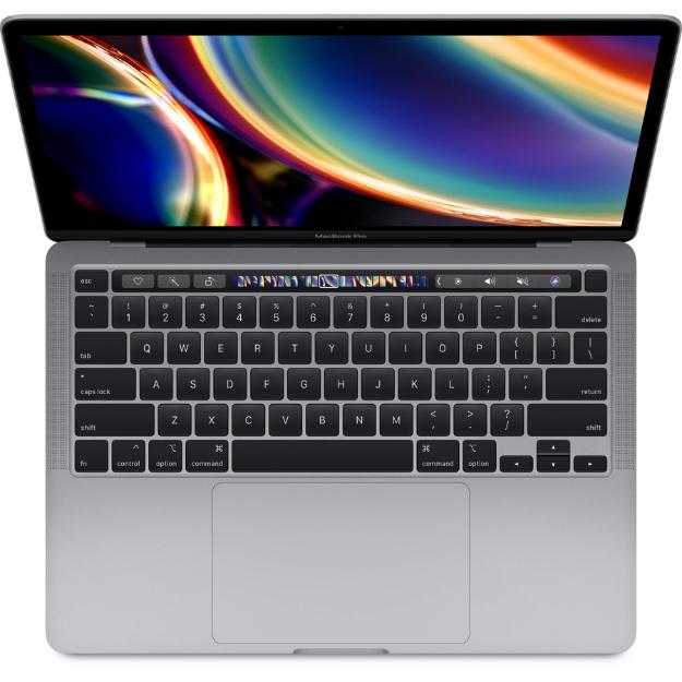 تصویر لپ تاپ 13 اینچی اپل مدل MacBook Pro MWP52 2020 همراه با تاچ بار