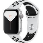 تصویر ساعت هوشمند اپل واچ سری 5 مدل 40mm Aluminum Case With Nike Sport Band