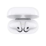 تصویر هدفون بی سیم اپل مدل AirPods 2nd Generation با کیس شارژ بیسیم
