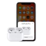 تصویر هدفون بی سیم اپل مدل AirPods Pro با کیس شارژ بیسیم